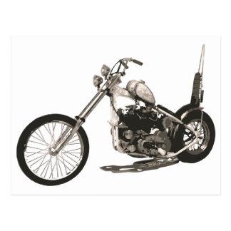 Motocicleta fácil del jinete - tarjeta del