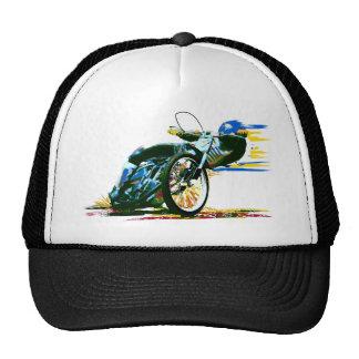 Motocicleta impresionante rápida del carretera gorra