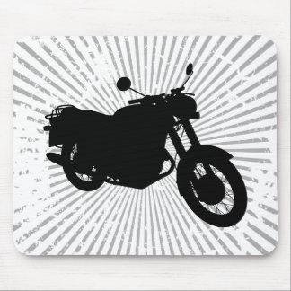 Motocicleta: Perfil del esquema: Mousepad de encar Alfombrilla De Ratón