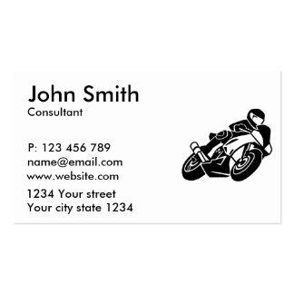 Motocicleta Tarjetas De Visita