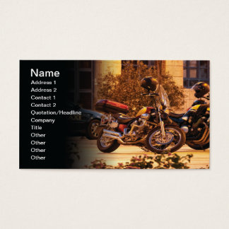 Motocicletas Tarjeta De Visita