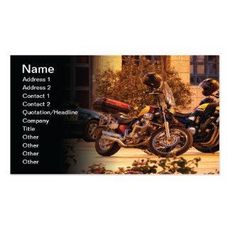 Motocicletas Tarjeta Personal