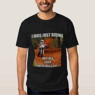 ¡Motocrós, camiseta de Dirtbike! ¡Divertido y