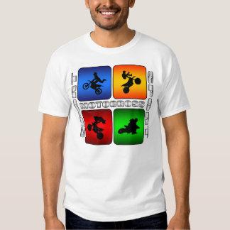 Motocrós espectacular camisas