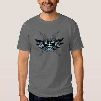 Motocrós tribal camisetas