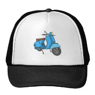 Motoneta azul (Vespa) Gorra