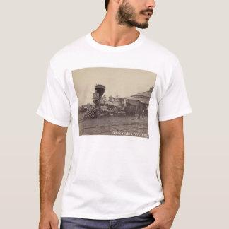 Motor de vapor Alexandría, camiseta del tren del