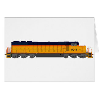 Motor del tren: Esquema de color clásico: Tarjeta De Felicitación