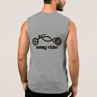 Motorista cristiano camisetas sin mangas