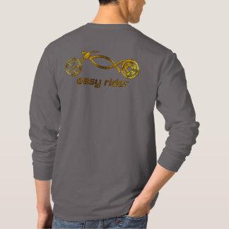 Motorista cristiano camiseta
