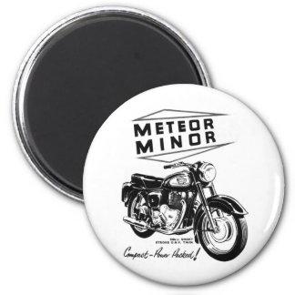 Motoristas de menor importancia de la motocicleta  iman de nevera