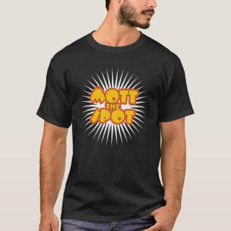 Mott el punto con el starburst blanco camiseta
