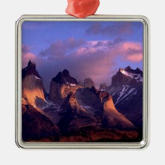 Mountain Cuernos Del Paine los Andes Chile Adorno De Reyes