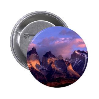 Mountain Cuernos Del Paine los Andes Chile Pins
