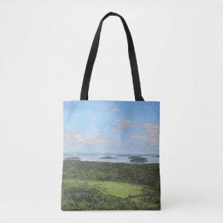 Mountain View de Dorr del gran prado Bolso De Tela
