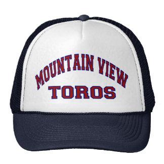 Mountain View Toros Gorras De Camionero