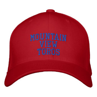 Mountain View Toros Gorra De Béisbol Bordada