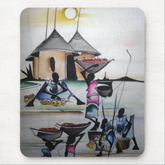 Mousepad casero africano 3 de la decoración