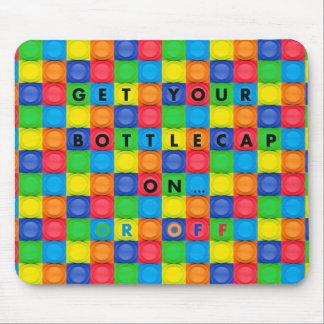 Mousepad con el diseño de Bottlecap de la diversió