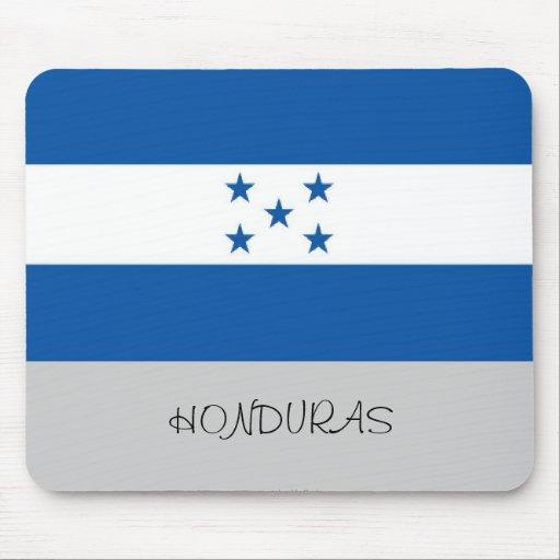 Mousepad de la bandera de Honduras Tapetes De Ratón