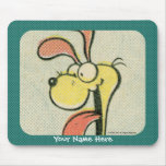 Mousepad de Odie del vintage Alfombrillas De Ratón