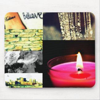 mousepad del collage de la foto alfombrilla de ratón