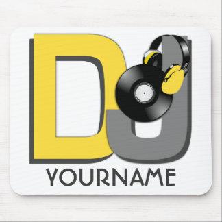 Mousepad del personalizado de DJ Alfombrilla De Ratón
