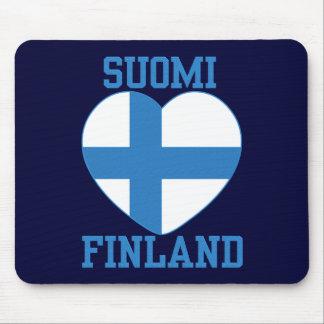 Mousepad del personalizado de SUOMI FINLANDIA