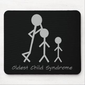 Mousepad divertido del más viejo síndrome del niño