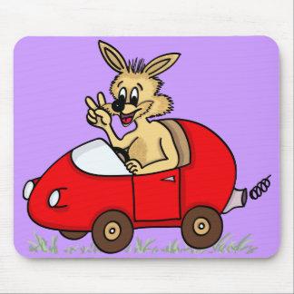 "mousepad ""funny rabbit """