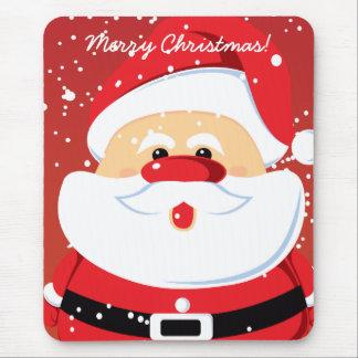 Mousepad lindo del personalizado de Papá Noel Alfombrilla De Ratón