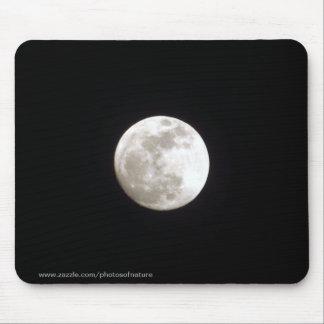 Mousepad - Luna Llena en el cielo nocturno claro Alfombrilla De Ratón