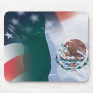 Mousepad mexicano-americano tapete de raton