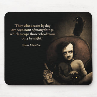 """MousePad """"Poe Quote"""""""