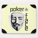 Alfombrilla de raton Poker Face Beige (H)