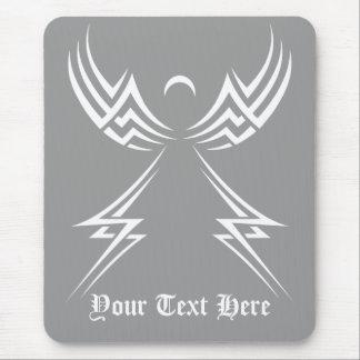 Mousepad tribal del personalizado del ángel