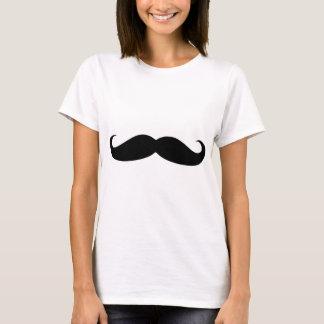 moustach divertido camiseta