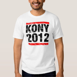 Movimiento 2012 de Kony Camisas