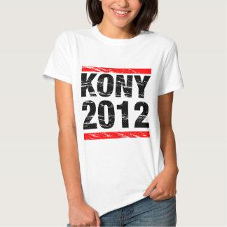 Movimiento 2012 de Kony Camisetas