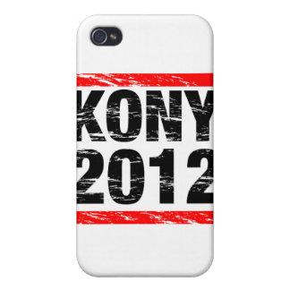 Movimiento 2012 de Kony iPhone 4 Cárcasa