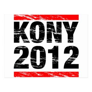Movimiento 2012 de Kony Postal