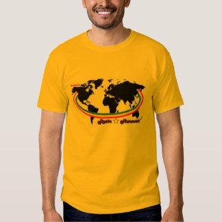 Movimiento Barnell de Rasta Camiseta