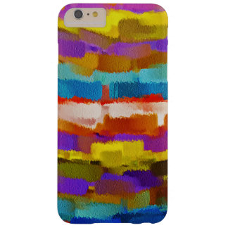 Movimiento colorido #5 del cepillo de la funda barely there iPhone 6 plus