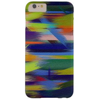 Movimiento colorido #7 del cepillo de la funda barely there iPhone 6 plus