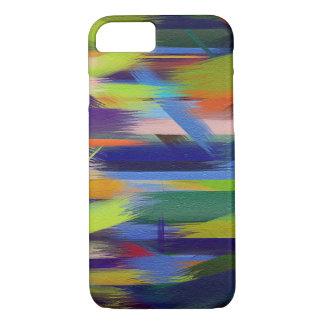 Movimiento colorido #7 del cepillo de la funda iPhone 7
