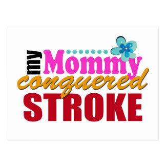 Movimiento conquistado mamá postal