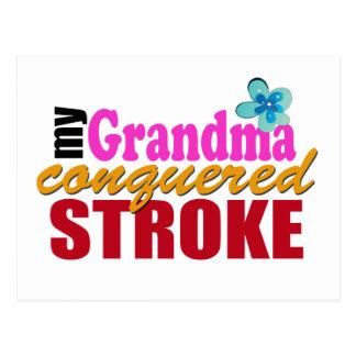 Movimiento del golpe de la abuela postal