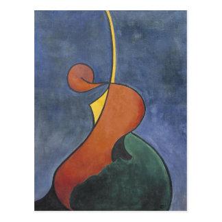 Movimiento heroico de Theo van Doesburg Postal