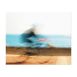 Movimiento - lona envuelta impresiones de lienzo