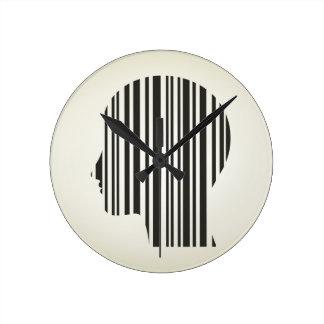Movimiento principal un código reloj redondo mediano